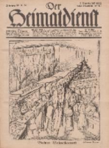 Der Heimatdienst : Mitteilungen der Reichszentrale für Heimatdienst, 12. Jahrgang, 2. Dezemberheft 1932, Nr 24.