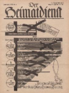 Der Heimatdienst : Mitteilungen der Reichszentrale für Heimatdienst, 13. Jahrgang, 2. Januarheft 1933, Nr 2.