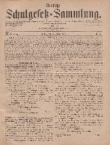 Deutsche Schulgesetz-Sammlung..., 6. Jahrgang, 15. März 1877, Nr. 11.