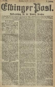 Elbinger Post, Nr. 172, Dienstag 27 Juli 1875, 2 Jh