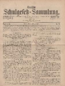 Deutsche Schulgesetz-Sammlung..., 6. Jahrgang, 4. Oktober 1877, Nr. 40.