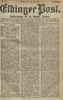 Elbinger Post, Nr. 173, Mittwoch 28 Juli 1875, 2 Jh