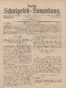Deutsche Schulgesetz-Sammlung..., 6. Jahrgang, 8. November 1877, Nr. 45.