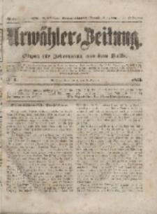 Urwähler-Zeitung : Organ für Jedermann aus dem Volke, Sonnabend, 3. Januar 1852, Nr. 2.