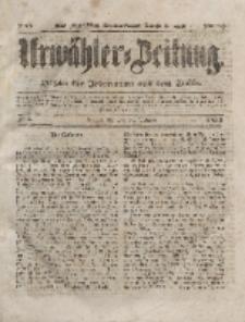 Urwähler-Zeitung : Organ für Jedermann aus dem Volke, Mittwoch, 7. Januar 1852, Nr. 5.
