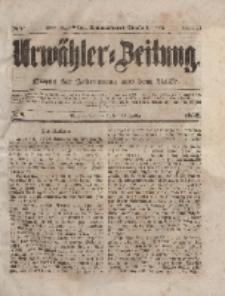 Urwähler-Zeitung : Organ für Jedermann aus dem Volke, Sonnabend, 10. Januar 1852, Nr. 8.