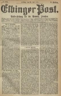 Elbinger Post, Nr. 175, Freitag 30 Juli 1875, 2 Jh