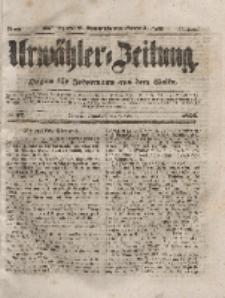 Urwähler-Zeitung : Organ für Jedermann aus dem Volke, Sonnabend, 7. Februar 1852, Nr. 32.