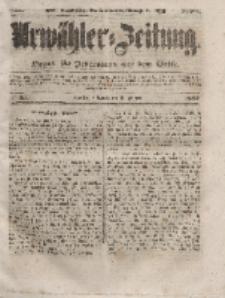 Urwähler-Zeitung : Organ für Jedermann aus dem Volke, Mittwoch, 11. Februar 1852, Nr. 35.