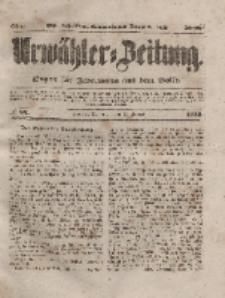Urwähler-Zeitung : Organ für Jedermann aus dem Volke, Donnerstag, 12. Februar 1852, Nr. 36.