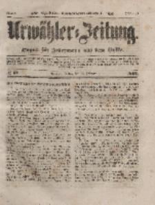 Urwähler-Zeitung : Organ für Jedermann aus dem Volke, Freitag, 13. Februar 1852, Nr. 37.