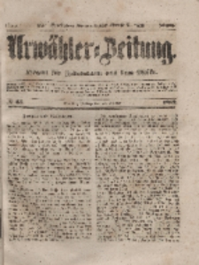 Urwähler-Zeitung : Organ für Jedermann aus dem Volke, Freitag, 20. Februar 1852, Nr. 43.