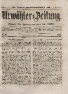 Urwähler-Zeitung : Organ für Jedermann aus dem Volke, Sonntag, 22. Februar 1852, Nr. 45.