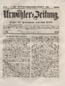 Urwähler-Zeitung : Organ für Jedermann aus dem Volke, Mittwoch, 25. Februar 1852, Nr. 47.