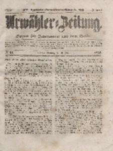 Urwähler-Zeitung : Organ für Jedermann aus dem Volke, Sonntag, 29. Februar 1852, Nr. 51.