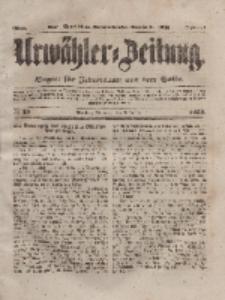 Urwähler-Zeitung : Organ für Jedermann aus dem Volke, Mittwoch, 3. März 1852, Nr. 53.
