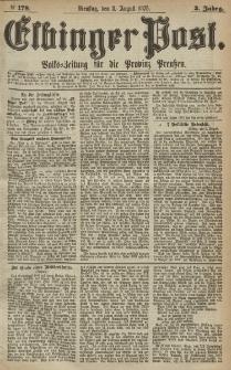 Elbinger Post, Nr.178 Dienstag 3 August 1875, 2 Jh