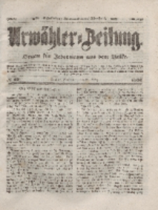 Urwähler-Zeitung : Organ für Jedermann aus dem Volke, Sonnabend, 20. März 1852, Nr. 68.