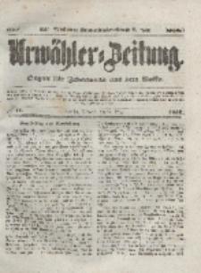 Urwähler-Zeitung : Organ für Jedermann aus dem Volke, Mittwoch, 24. März 1852, Nr. 71.