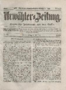 Urwähler-Zeitung : Organ für Jedermann aus dem Volke, Freitag, 26. März 1852, Nr. 73.