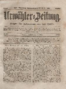 Urwähler-Zeitung : Organ für Jedermann aus dem Volke, Sonnabend, 27. März 1852, Nr. 74.