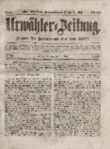 Urwähler-Zeitung : Organ für Jedermann aus dem Volke, Sonntag, 28. März 1852, Nr. 75.