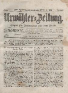 Urwähler-Zeitung : Organ für Jedermann aus dem Volke, Mittwoch, 31. März 1852, Nr. 77.