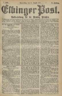 Elbinger Post, Nr.186 Donnerstag 12 August 1875, 2 Jh