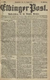 Elbinger Post, Nr.188 Sonnabend 14 August 1875, 2 Jh