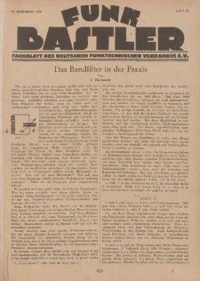 Funk Bastler : Fachblatt des Deutschen Funktechnischen Verbandes E.V., 27. Dezember 1929, Heft 52.