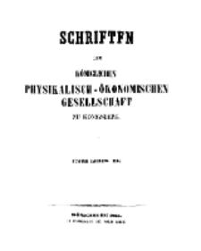 Schriften der Königlichen Physikalisch-Ökonomischen Gesellschaft zu Königsberg, 5. Jahrgang, 1864