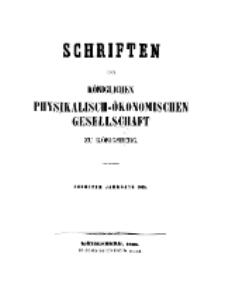 Schriften der Königlichen Physikalisch-Ökonomischen Gesellschaft zu Königsberg, 6. Jahrgang, 1865