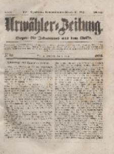 Urwähler-Zeitung : Organ für Jedermann aus dem Volke, Mittwoch, 7. April 1852, Nr. 83.