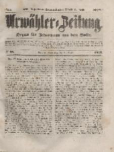 Urwähler-Zeitung : Organ für Jedermann aus dem Volke, Donnerstag, 15. April 1852, Nr. 88.
