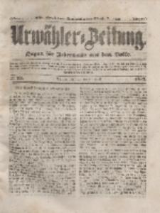 Urwähler-Zeitung : Organ für Jedermann aus dem Volke, Dienstag, 20. April 1852, Nr. 92.
