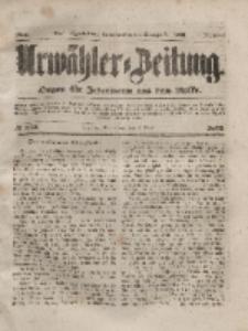 Urwähler-Zeitung : Organ für Jedermann aus dem Volke, Sonnabend, 1. Mai 1852, Nr. 102