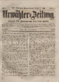 Urwähler-Zeitung : Organ für Jedermann aus dem Volke, Mittwoch, 26. Mai 1852, Nr. 121