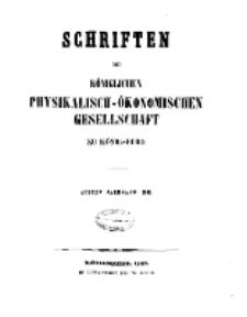 Schriften der Königlichen Physikalisch-Ökonomischen Gesellschaft zu Königsberg, 8. Jahrgang, 1867