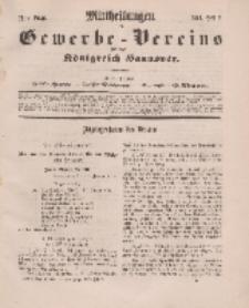 Mittheilungen des Gewerbe -Vereins für das Königreich Hannover, Jg. 1861, Heft 2.