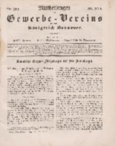 Mittheilungen des Gewerbe -Vereins für das Königreich Hannover, Jg. 1861, Heft 4.