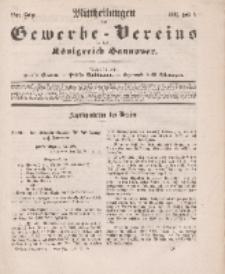 Mittheilungen des Gewerbe -Vereins für das Königreich Hannover, Jg. 1861, Heft 5.