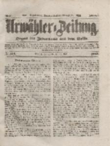 Urwähler-Zeitung : Organ für Jedermann aus dem Volke, Sonnabend, 29. Mai 1852, Nr. 124