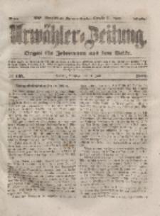Urwähler-Zeitung : Organ für Jedermann aus dem Volke, Dienstag, 15. Juni 1852, Nr. 137
