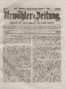 Urwähler-Zeitung : Organ für Jedermann aus dem Volke, Freitag, 18. Juni 1852, Nr. 140
