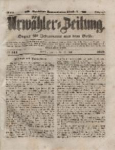 Urwähler-Zeitung : Organ für Jedermann aus dem Volke, Dienstag, 22. Juni 1852, Nr. 143.