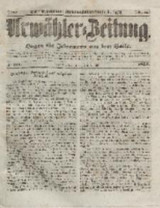 Urwähler-Zeitung : Organ für Jedermann aus dem Volke, Donnerstag, 1. Juli 1852, Nr. 151.