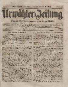 Urwähler-Zeitung : Organ für Jedermann aus dem Volke, Sonnabend, 3. Juli 1852, Nr. 153.