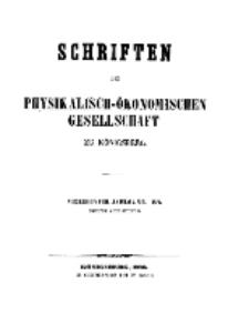 Schriften der Königlichen Physikalisch-Ökonomischen Gesellschaft zu Königsberg, 14. Jahrgang, 1873