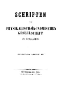 Schriften der Königlichen Physikalisch-Ökonomischen Gesellschaft zu Königsberg, 16. Jahrgang, 1875