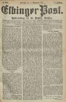 Elbinger Post, Nr.207 Sonntag 5 September 1875, 2 Jh